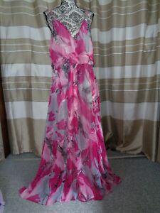(A229) Ausgefallenes Damen Abendkleid GR: GR: 48