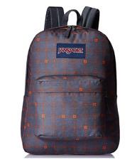 JanSport SUPERBREAK SHADY GREY STITCH BackPack Book Bag 1550/ 25L JS00T5010K7