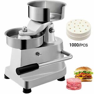 Commercial Manual hamburger patty burger press machine butcher Diameter 130mm