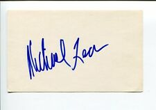 Michael Leon Payback DOOL Hero at Large Happy Days Signed Autograph