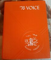 Vintage The 1976 Voice Stamford Central School Stamford NY High School Yearbook