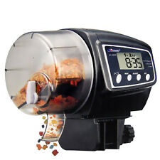 LCD Digital Timer Auto Automatic Aquarium Tank Pond Fish Pet Food Feeder Feeding