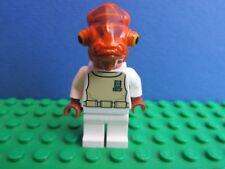genuine LEGO STAR WARS ADMIRAL ACKBAR minifigure lot 7754 75003 ROTJ 24H