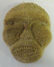 Antique Carved Face Unusual Eskimo or Northwest Coast 19th Century