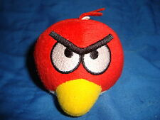 """Red Bird Angry Bird small plush 2.5"""" tall x 2.5"""" wide"""
