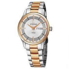 Eterna Men's Artena Silver Dial Stainless Steel Quartz Watch 2525.53.11.1725