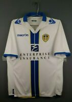 5/5 Leeds United jersey large 2013 2014 home shirt soccer football Macron ig93