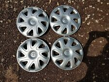 "Set of 4 New 2000 2001 2002 Corolla 14"" Wheel Covers Hubcaps 61111"