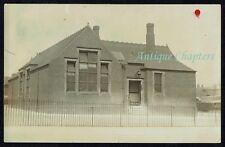 1909 Kirkstead School Kirkstead Road Pinxton Nottinghamshire Postcard C532