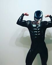 muscle costume for batman, venom, black panther, fetish leather suit, spider man