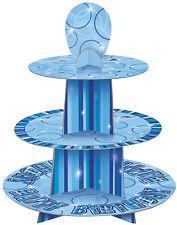 Unique Party 55402 - Customisable Glitz Blue Cupcake Stand