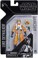 Star Wars The Black Series Archive - Luke Skywalker X-Wing Pilot Action Figure
