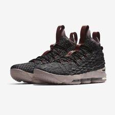 NUEVO Nike Lebron Xv (gs) Talla 6 Reino Unido 922811-003 Niños Zapatos de baloncesto