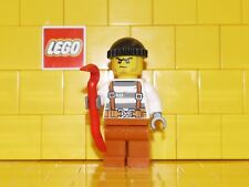 Lego City Thief / Crook / Robber With Crowbar NEW