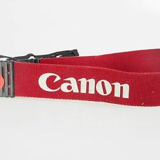 ^ Canon EOS RED Genuine Vintage Neck Strap 242