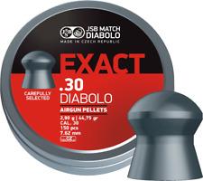 JSB MATCH DIABOLO EXACT PELLETS .30 150 pcs Balines Plombs Kugeln Made inEUROPE