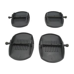 Caravan Jack Pads x4 (Feet Stabiliser Corner Steady Feet Leg Support Universal)