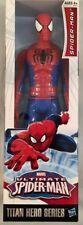 "Marvel Titan Hero Series Spiderman 12""/30cm Action Collection Figure Hasbro NIB"