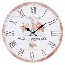 Uhr Clayre Eef nostalgie Shabby Rosen Romance Vintage Antik 34 * 3cm