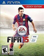NEW FIFA 15: Legacy Edition (PlayStation Vita, 2014)