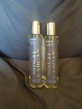 Bath and & Body Works lot x2 Amber & Argan Body Oil With Pure Argan Oil - 6.3 oz