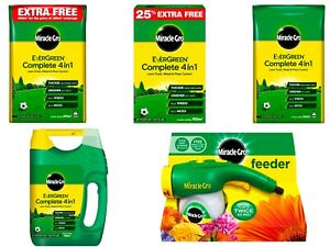 Miracle Gro Evergreen Complete 4 in 1 Lawn Weed Food & Moss Control Grass Care