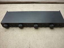 VTG Incus Speaker Switch Box SS-4VS Selector 2 way AudiophIle 4 pair 2 Amp USA
