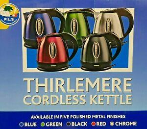 Low Wattage Cordless Kettle Caravan Motorhome 750watt 1.2L - Thirlmere Kettle