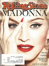 MARCH 12, 2015 ROLLING STONE MAGAZINE MADONNA QUEEN OF POP RAY OF LIGHT MUSIC