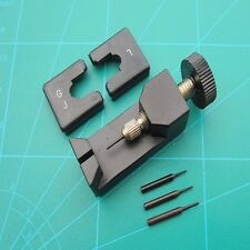 Watch Bracelet Link Removal Tool Full Metal Construction With 4 Push Pins