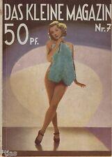 Das kleine Magazin Zeitschrift Heft 7/1937 Film Bildhauer Nordpol Cook Peary