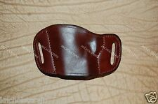 Taurus 1911 with Rail Leather Gun Holster Left Hand Mahogany Made In U.S.A