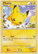 Pikachu 61/90 HS Undaunted Common PERFECT MINT! Pokemon