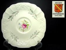 BEAUTIFUL MYOTT DRESDEN ROSE SAUCER ONLY PATTERN# 6036 [3]