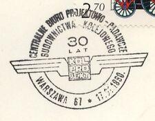 POLAND 1980 009 POSTMARK Polish Railways