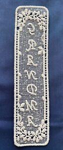 Lace Bookmark - Grandma - cream