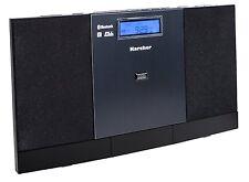 Karcher MC 6540BT Musikcenter Bluetooth Stereoanlage Radio CD USB MP3 Wecker