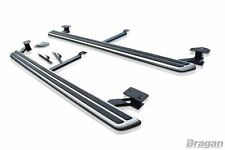 To Fit 2015 - 2020 Audi Q7 4M Running Boards Aluminium Side Step Skirt Foot Rest