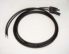 2 x 2 Metre 4mm2 Solar Cable Extension Lead with MC4 Connectors