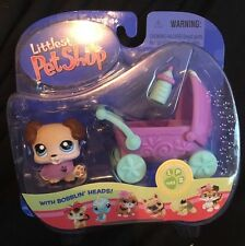 Hasbro LPS Littlest Pet Shop Tan Dog Puppy #143 Pet Portable
