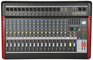 Live Mixer With Usb/bt Player + Dsp Effects Citronic Csx-18 170.885uk