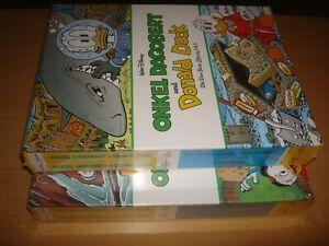 Onkel Dagobert & Donald Duck Die Don Rosa Library Nr.1-4 mit Schuber