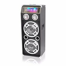 Pyle PSUFM1035A Bluetooth 1000 Watt 2-Way Speaker System with SD Card Reader, FM