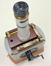 Ruska Vertical Magnetometer No. 2984, with wooden box, Vintage