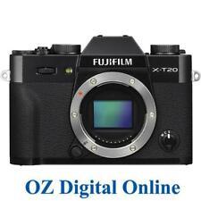 NEW Fujifilm X-T20 Body Black 24MP 4K Wifi Digital Camera 1 Yr Aus Wty