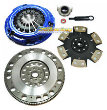 FX STAGE 4 CLUTCH KIT & FLYWHEEL FOR 06-14 SUBARU IMPREZA WRX 2.5L TURBO 5-SPEED
