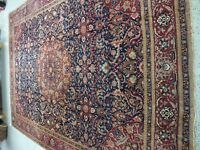 "11'0""x14'8"" Antique Tabriz Persian Rug"