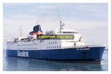 rp12572 - Sealink Ferry - St Columba  - photograph 6x4