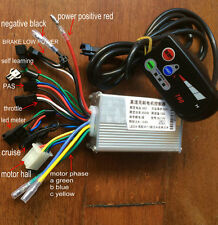 24v36V48V250W350w BLDC controller and LED display 790 for electric bike scooter