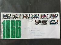 First Day Cover 900th Anniversary of The Battle of Hastings 1966 Battle Sussex